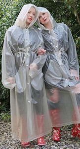 pvc Fetish rainwear plastic