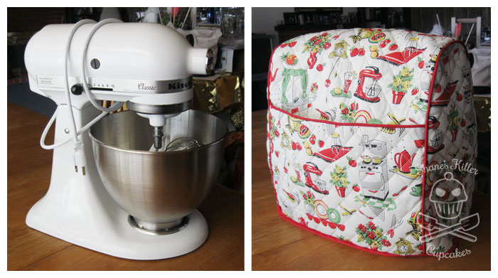 Handmade Kitchenaid Stand Mixer Cover In 2020 Mixer