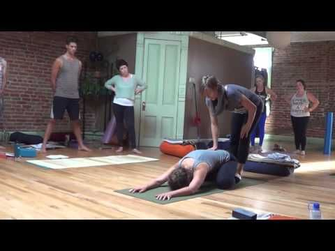 childs pose  beginner yoga with woody woodrow part 2