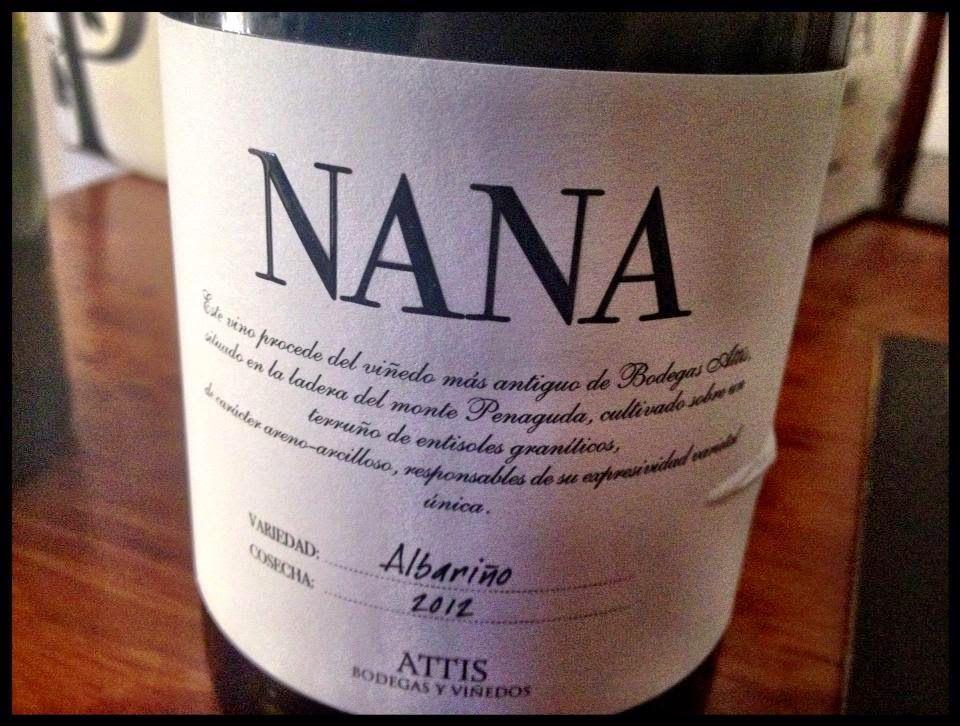 El Alma del Vino.: Attis Bodegas y Viñedos Nana Albariño 2012.