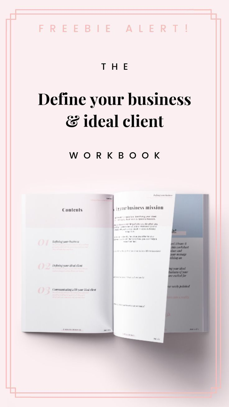 This 10+ page workbook is designed to help you clarify