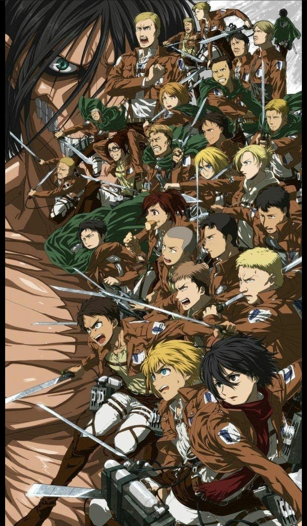 Attack On Titan Scouts Regiment Attack On Titan Anime Attack On Titan Fanart Attack On Titan