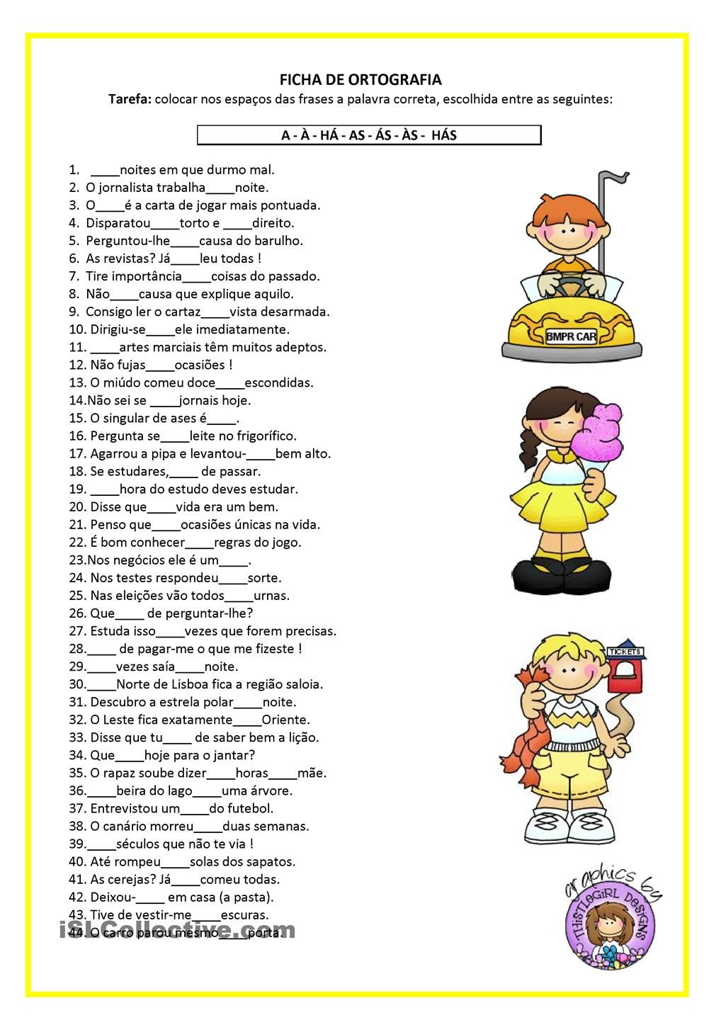 Worksheets Portuguese Worksheets pg ficha de ortografia education pinterest portuguese learn and worksheets