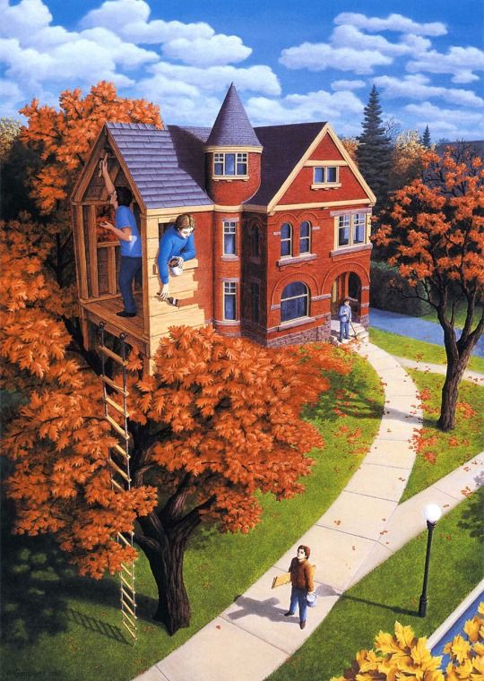 Pixel Loft  Mind-Bending Paintings By Canadian Artist Rob Gonsalves