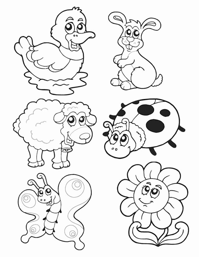 Free Spring Coloring Pictures Awesome Spring Animals Free Printable Coloring Pages In 2020 Animal Coloring Pages Cartoon Coloring Pages Butterfly Coloring Page