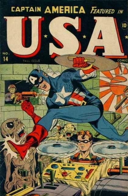 marvel comics usa