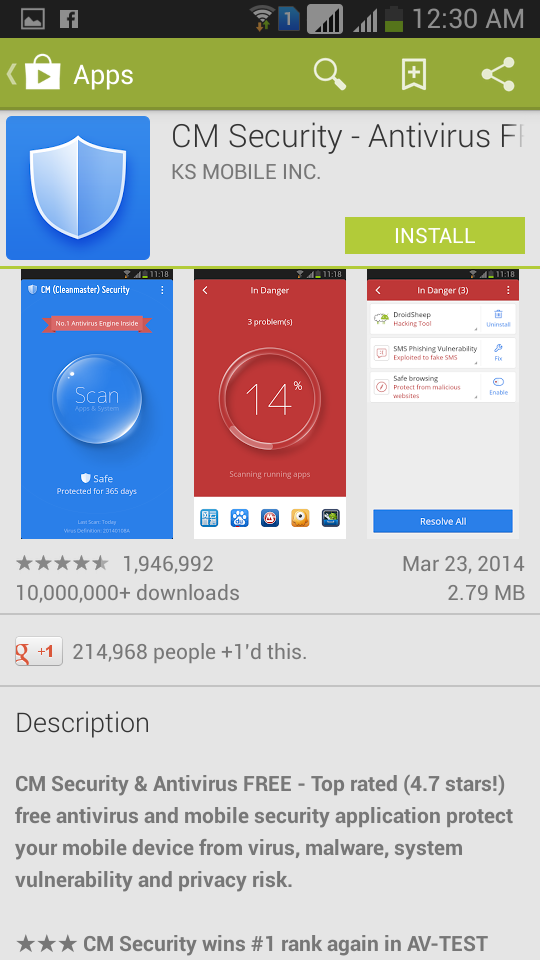 Top 5 Best Free and Paid Antivirus for Android Smartphone