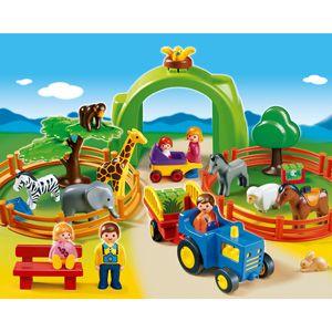 Playmobil Animal Farm 1 2 3 Play Set Kids Pre-School First Fun Activity Toys NEW