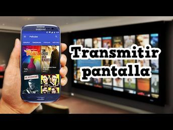 COMO CONECTAR TU MOVIL A LA TV SMART SIN CABLES COMO