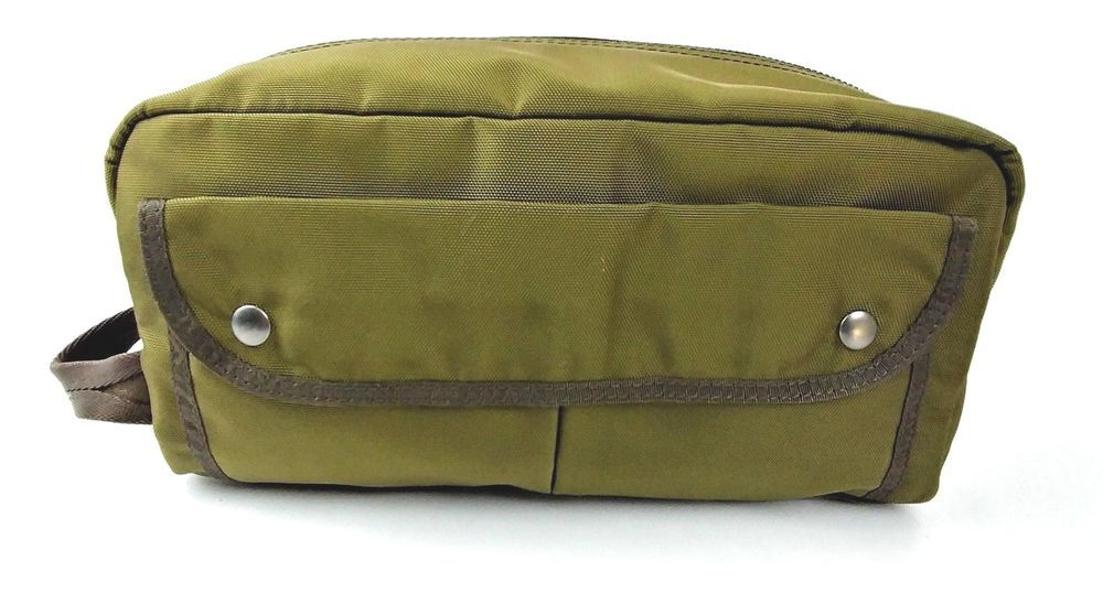 Polo Ralph Lauren Military Nylon Shave Bag Travel Toiletry Dopp Kit Bag  olive  PoloRalphLauren  ToiletryBag 192d31a9943b0
