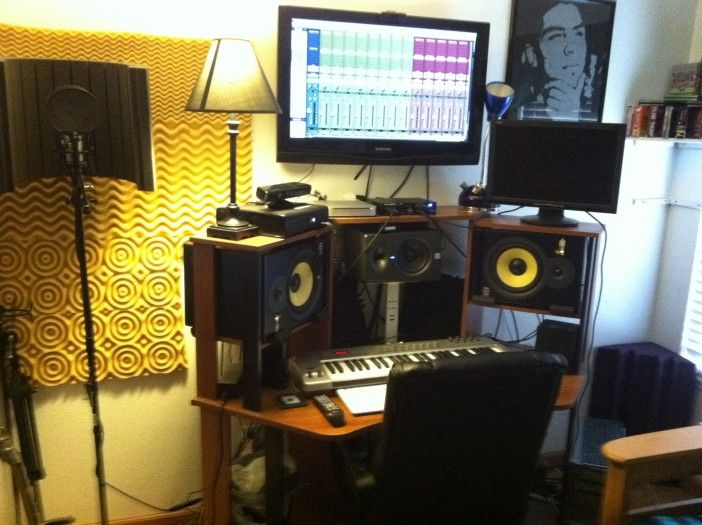 20 Home Recording Studio Photos From Audio Tech Junkies | Home ...