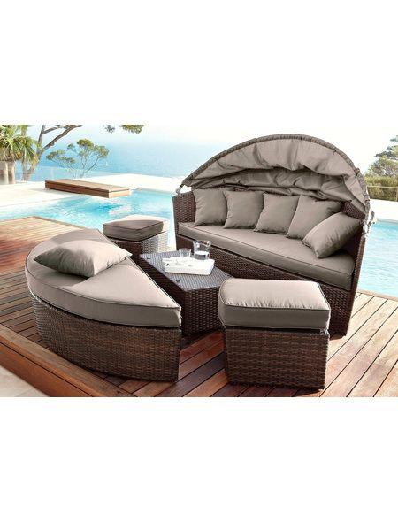 Loungebett Loungebett Lounge Aussenmobel