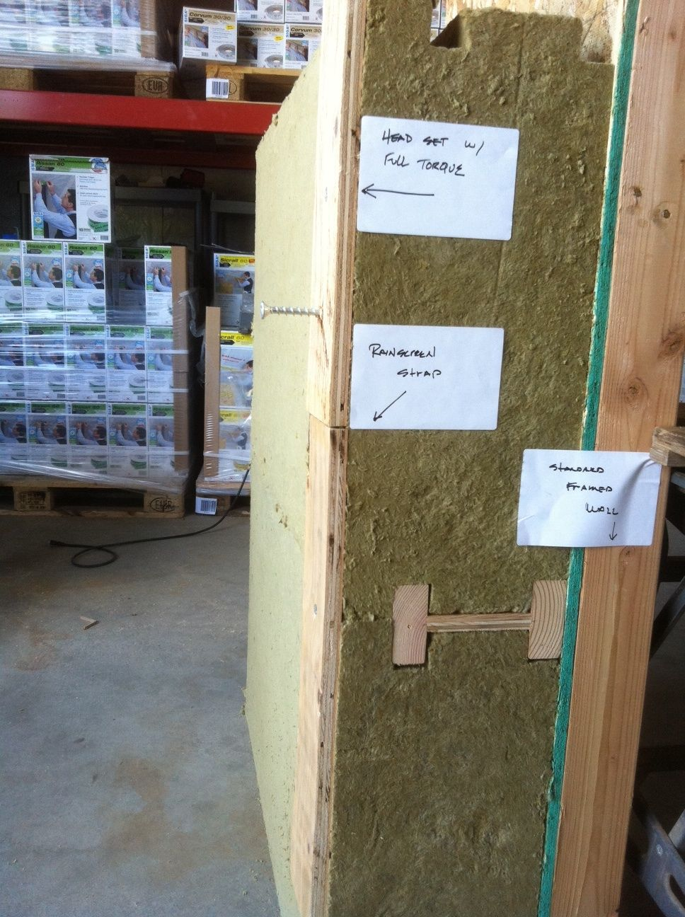 Installing Mineral Wool Insulation Over Exterior Wall Sheathing Mineral Wool Insulation Wall Systems Mineral Wool