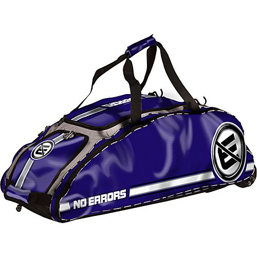Gear Guard The Dinger Purple Bags Softball Bags Rolling Bag