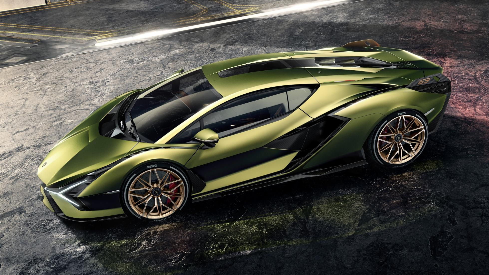 The Lamborghini Sian Is A Hybrid V12 With Supercapacitors Super Cars Lamborghini Fastest Lamborghini