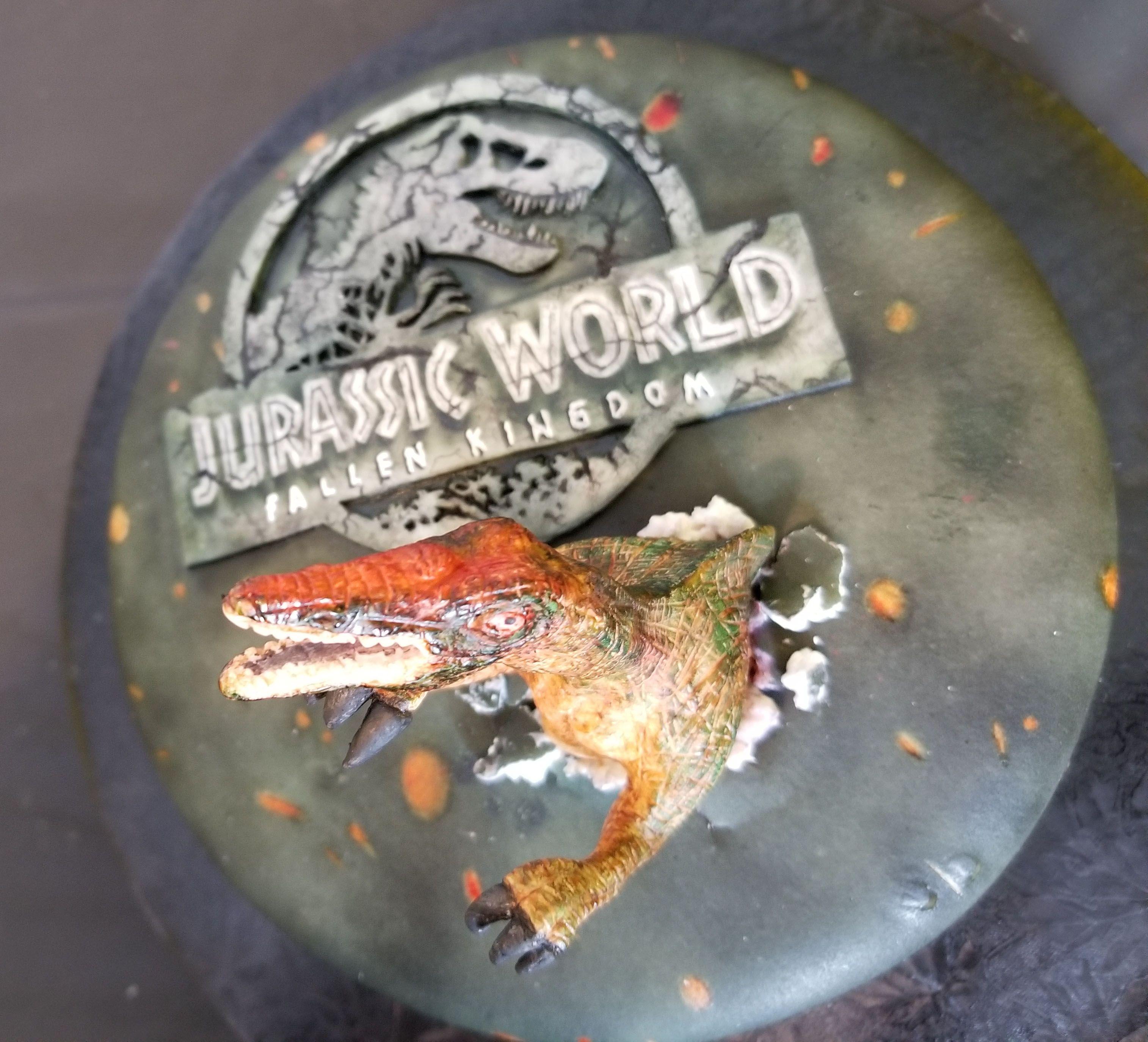 Jurassic World 2: Fallen Kingdom Cake Tutorial On YouTube