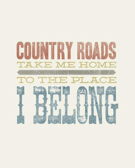 country back roads home country song lyrics country lyrics