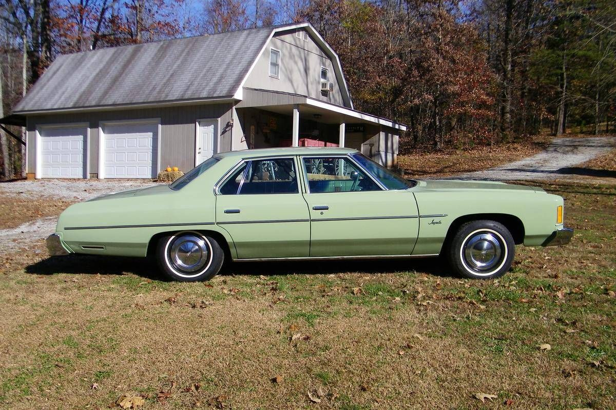 1975 Chevrolet Impala 4 Door See The U S A In Your