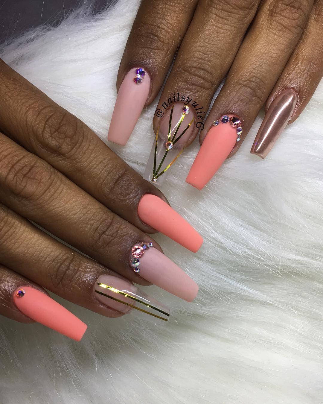 Sculpted full set #nails #nailart #nailpro #naildesigns #nailswag ...