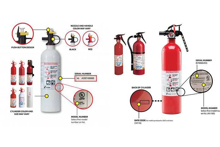 27 million fire extinguishers recalled in canada fire