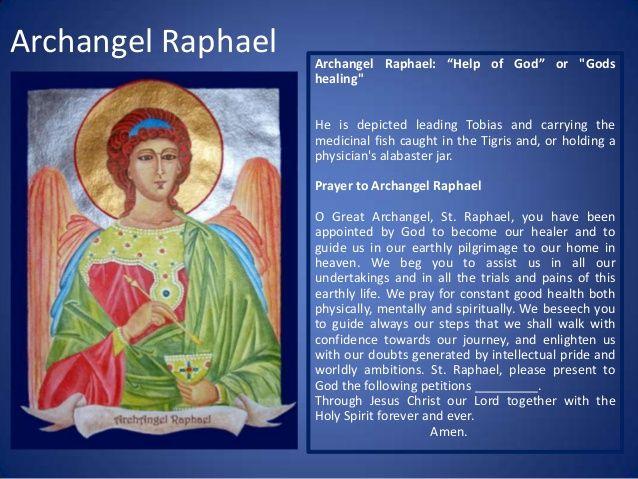 聖raphael癒しのための大天使の祈り