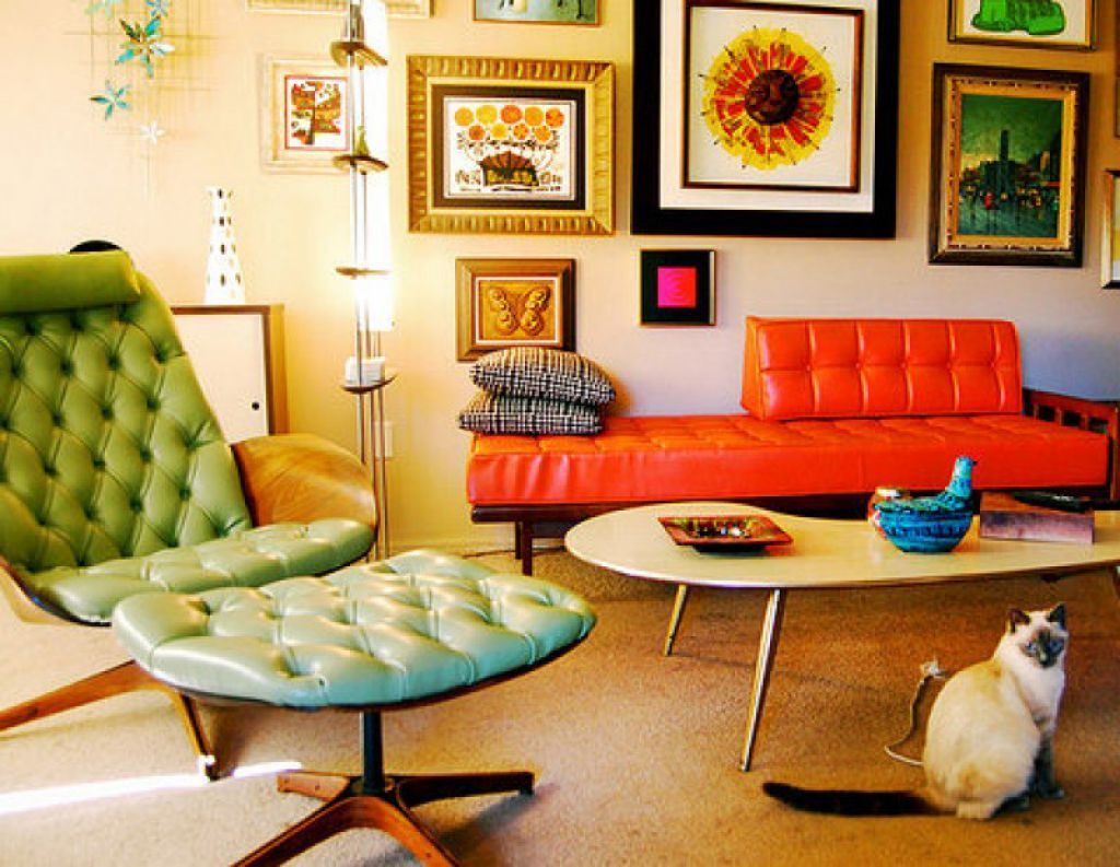 Retro Home Decor Far From Being Out Of Fashion Is A