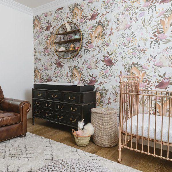 Lulu & Halette Rug Decor, Deer wallpaper, Room decor