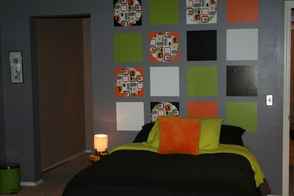 Sly\u0027s room paint ideahate this bedding, looks cheap room colors