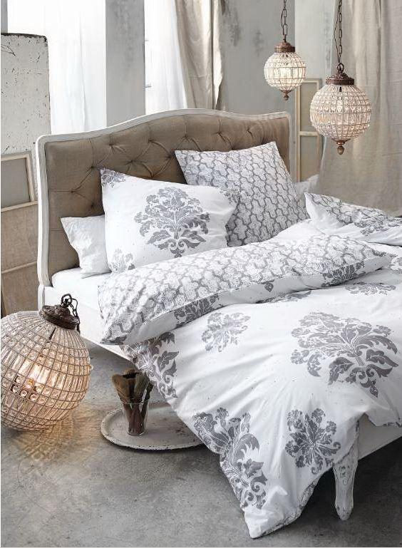 Die romantisch-arabesken Ornamente verleihen dem gesamten - schlafzimmer romantisch