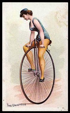 Image result for vintage unicycle
