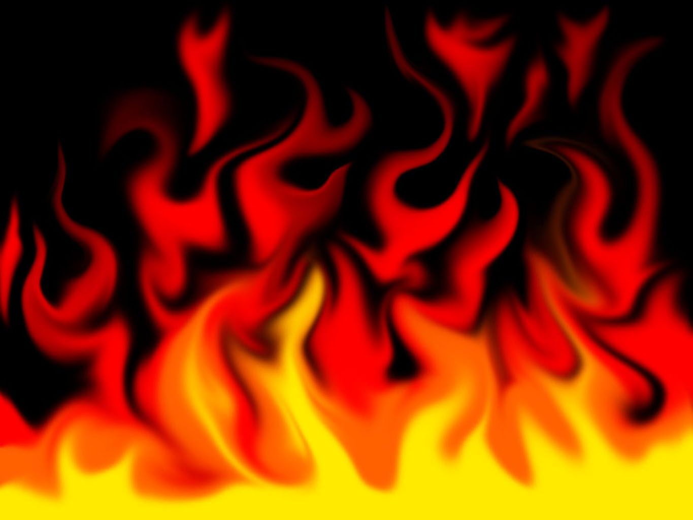 big beautiful flame ppt backgrounds template for presentation, Powerpoint templates