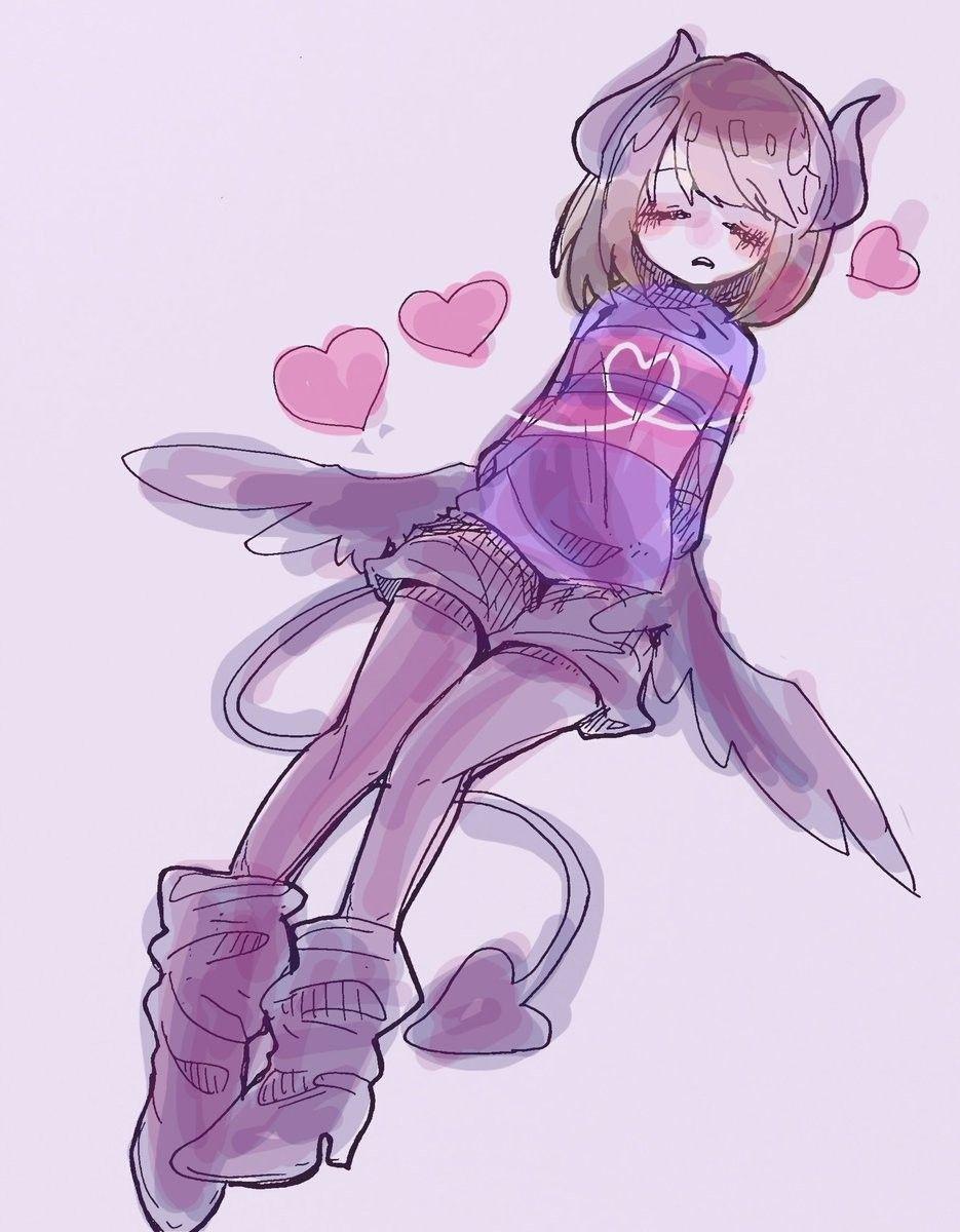 Undertale Demon Frisk Anime Undertale Undertale Cute