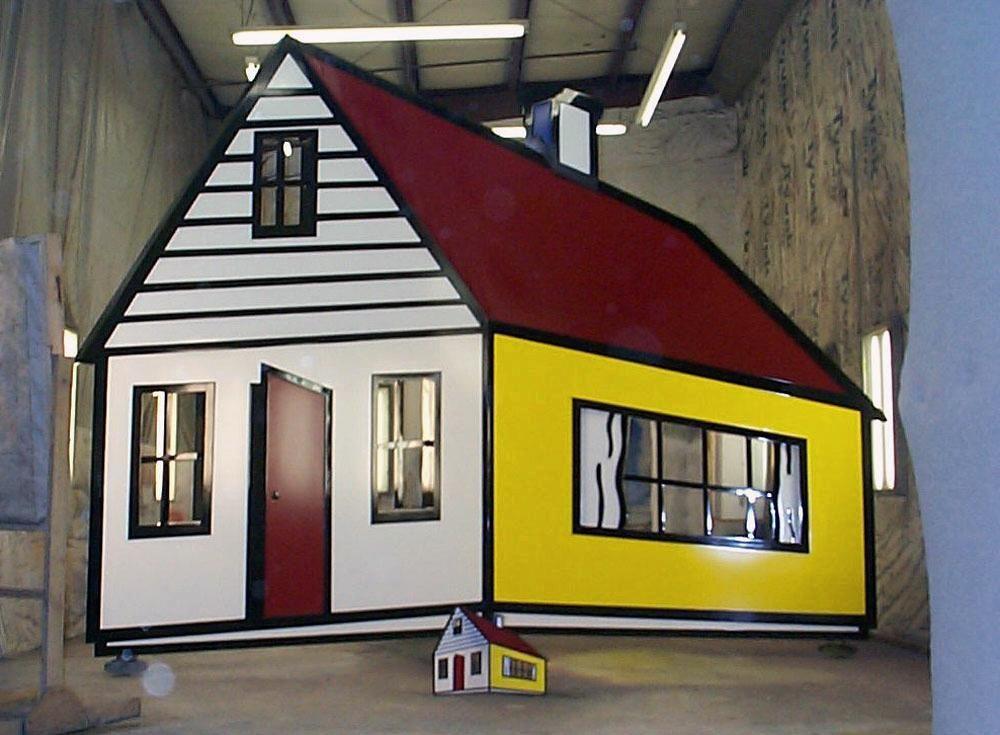 1997 - House III   Roy Lichtenstein \'90s   Pop art   Roy ...