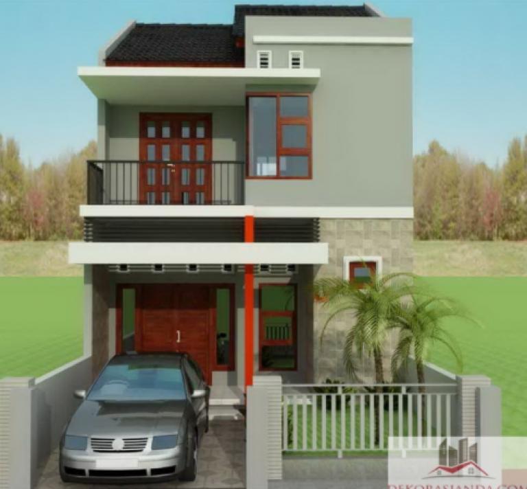 Desain Rumah Minimalis 2 Lantai Dan Biaya Cek Bahan Bangunan