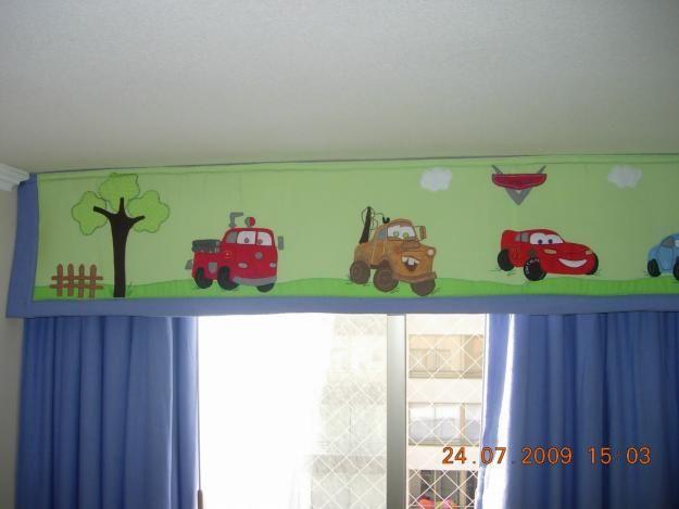Cortinas para cuarto de ni os cortinas y cenefas for Cenefas para cortinas