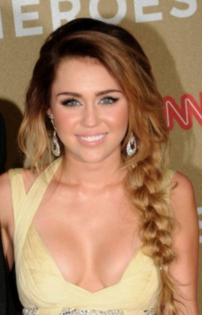 Miley Cyrus Long Hair Braid Miley Cyrus Long Hair Pinterest