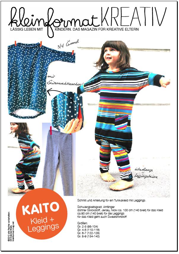 kreativ KAITO Kleid + Leggings SCHNITT   Leggings, Kaito und Produkte