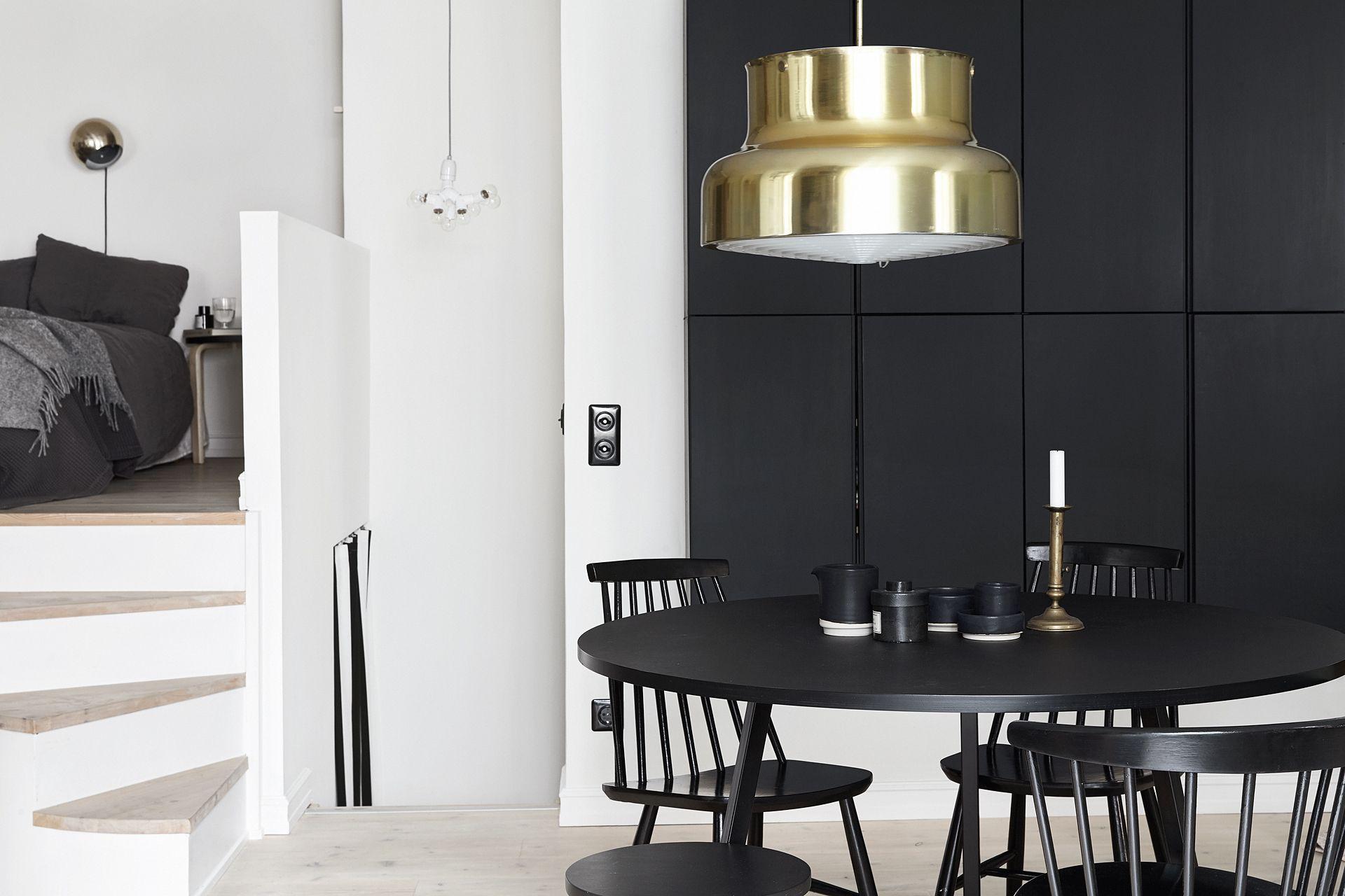 Klein appartement super slim ingericht met scandinavisch design