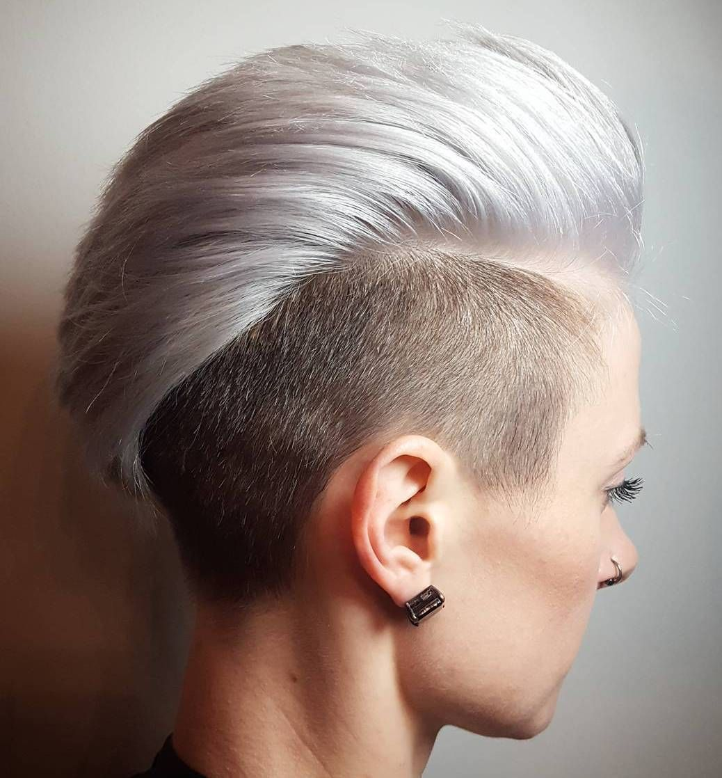 most gorgeous mohawk hairstyles of nowadays mohawks blondes