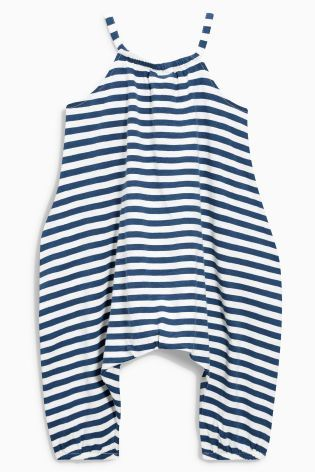 Buy Navy and White Striped Playsuit (3mths-6yrs) from the Next UK online shop