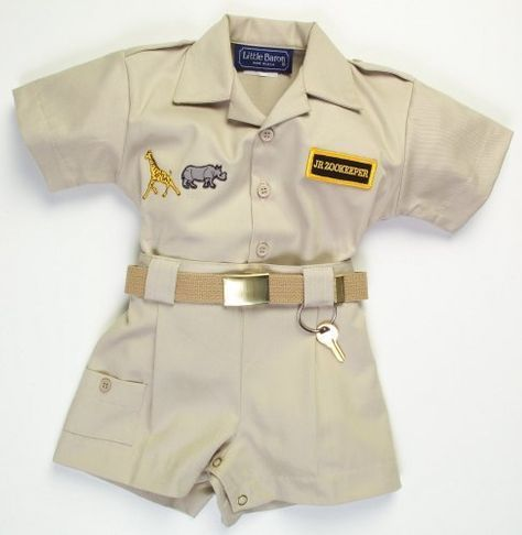 Infant Toddler Zoo Keeper Outfit Http Www Amazon Com Dp B000oyh3zc Ref Cm Sw R Pi Awdm Wrscub1j3mqj Baby Safari Outfit Safari Outfit Safari Birthday Party