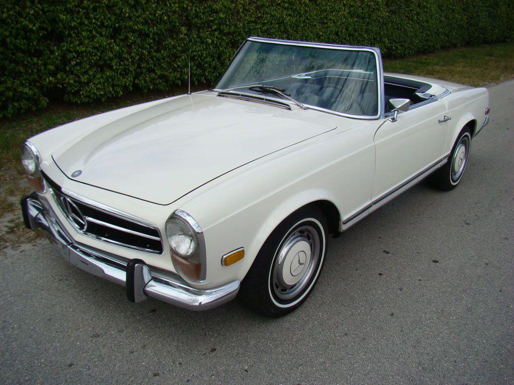 1968 mercedes benz 280 sl pagoda caracters mercedes sl for Mercedes benz sl280 for sale