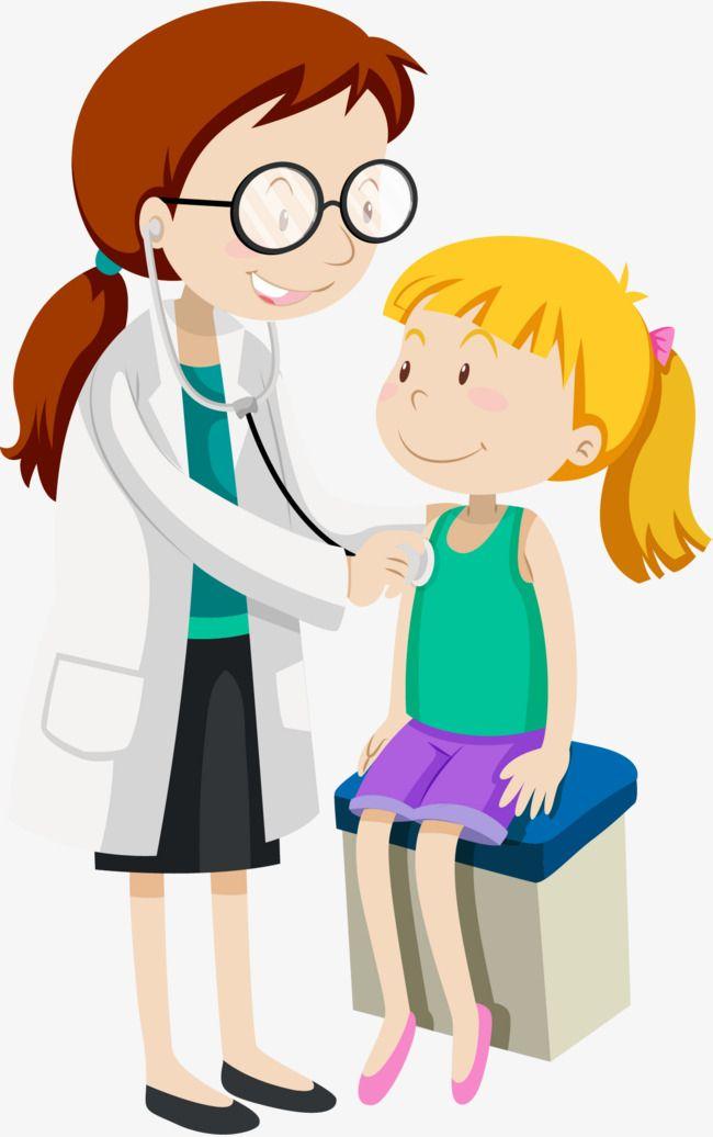 Examen físico del niño, Chica, Niño, Niño PNG y Vector | médicos ...
