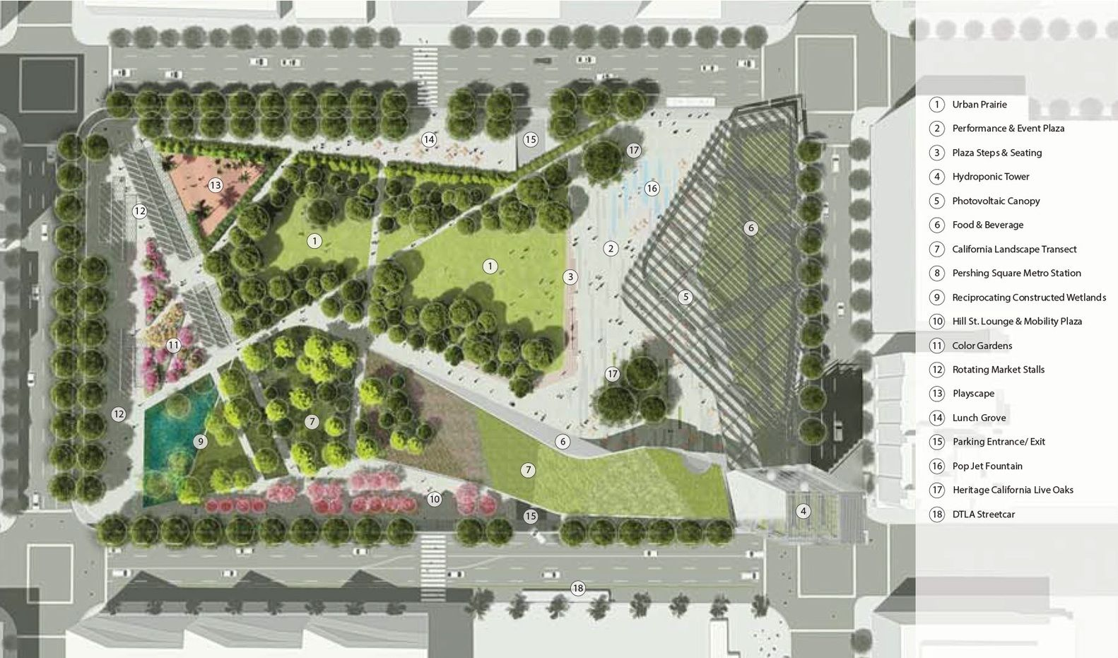 Gallery Of Pershing Square Renew Unveils Finalist Designs