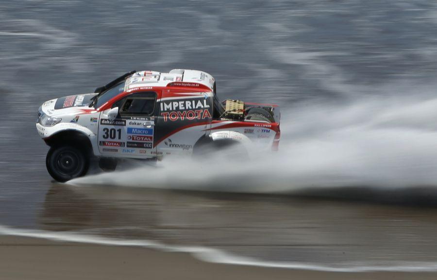 FOTOS: así se vivió la cuarta etapa del Rally Dakar