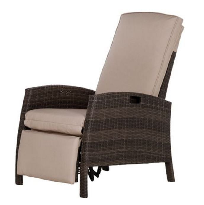 Mali Rattan Effect Reclining Garden Chair http://www.homebase.co.uk ...
