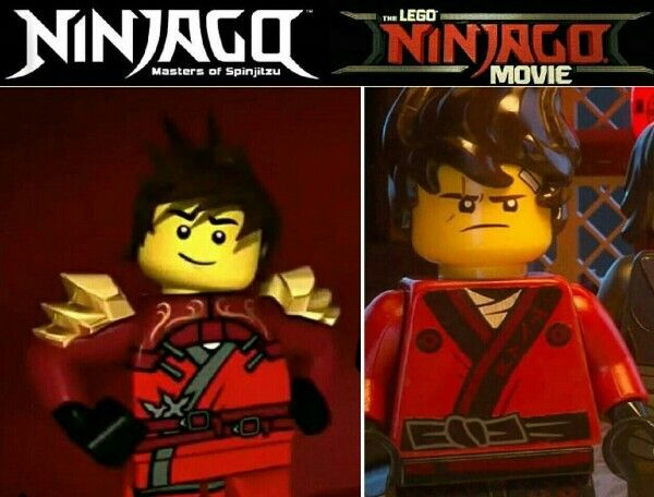 Ninjago movie vs series (by _.ninjago_is_life._ on instagram ...