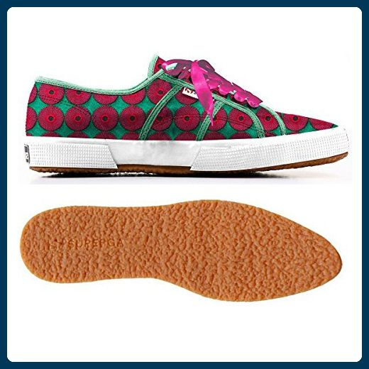 Superga 2075-COTEMBRW GREEN-FUXIA - Sneakers für frauen (*Partner-Link