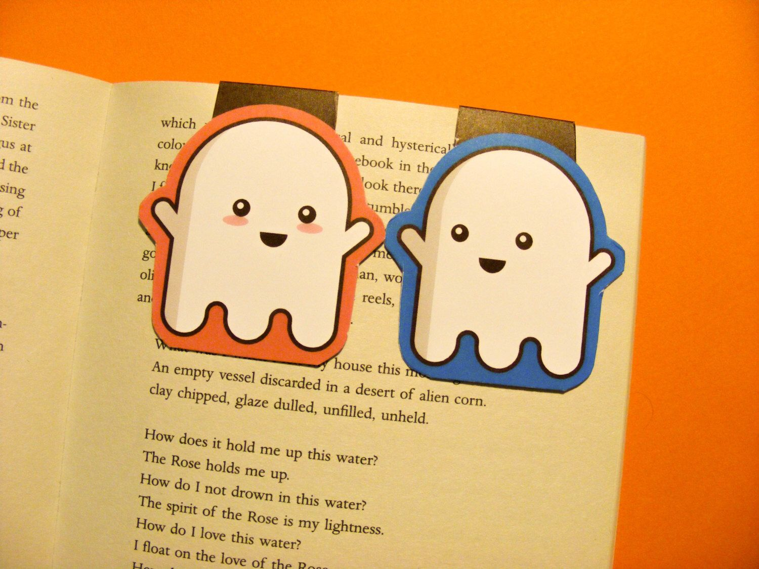 Bookmarks magnetic bookmarks ghost bookmark set set of two bookmarks magnetic bookmarks ghost bookmark set set of two bookmarks cute planning fandeluxe Choice Image