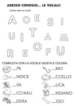 Immagine Correlata Schede Didattiche Learning Italian Math